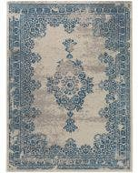 Tappeto Antique Beige/Blu